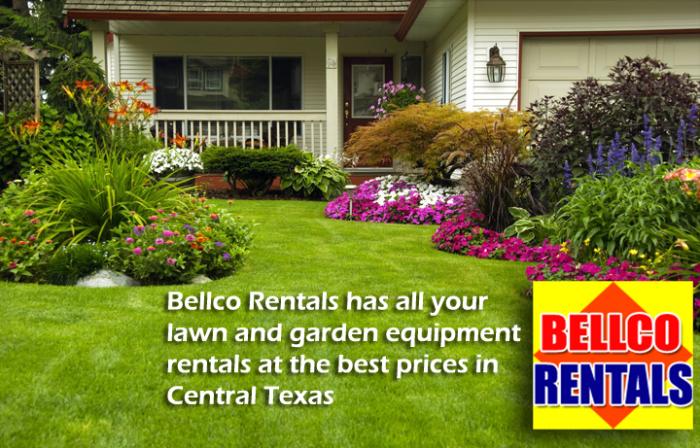 Lawn and Garden Rentals